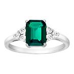 1 5/8 ct Emerald Ring