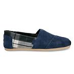 男款经典麂皮深蓝色帆船鞋