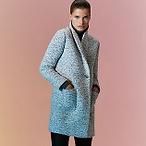女士保暖长款大衣