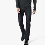 男款深色直筒裤