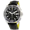 TAG Heuer Aquaracer Chronograph Black Dial Men's Watch