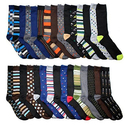 30 Pairs John Weitz Men's Casual Dress Socks