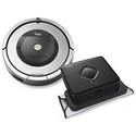 iRobot Roomba 860 Vacuuming Robot & Braava 380t Mopping Robot Bundle