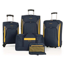 Nautica Open Seas 5 Piece Luggage Set