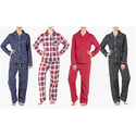 Sociology Women's Flannel Pajama Set (2-Piece)