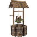 Best Choice Products Wooden Wishing Well