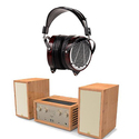 AUDEZE LCD-4 Reference Headphone & Stereo System Bundle