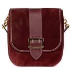 Burberry Suede Satchel Bag