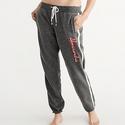 Abercrombie & Fitch 女士条纹运动裤