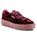 FENTY Puma x Rihanna 联名款丝绒运动鞋