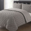 Embossed Comforter Sets with Sheets (5- or 7-Piece)