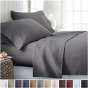 Clara Clark Egyptian Comfort 1800 Count 4 Piece Deep Pocket Bed Sheet Set