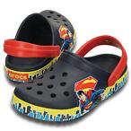 儿童款超人洞洞鞋