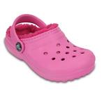 儿童带毛洞洞鞋