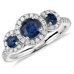 Isola Sapphire Ring