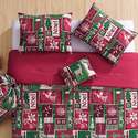 Holiday Comforter Sets with Bonus Storage Bag (4 or 5 piece)