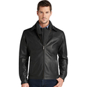 Jos A Bank Signature Collection Traditional Fit Leather Jacket