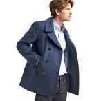 男款羊毛大衣