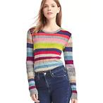 女款条纹毛衣