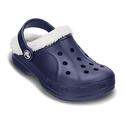 Crocs 儿童Ralen 绒里保暖洞洞鞋