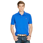 Classic-Fit Mesh Polo Shirt