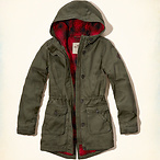 Girl's Lined Parka