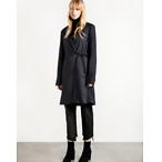 Side Tie Blazer Coat