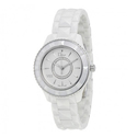 Jomashop: Dior VIII Diamond White Ceramic and Steel Ladies Watch
