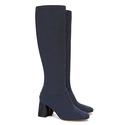 Tory Burch Women's Sidney Suede Mid-Heel Boot