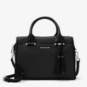 Geneva Large Leather Satchel