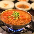 韩国泡菜锅双人餐