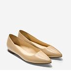 女款尖头平底鞋