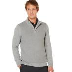 Textured Zip Sweater