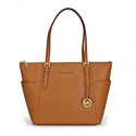 Michael Kors Jet Set Saffiano Tote in Luggage