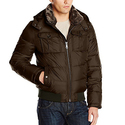 Tommy Hilfiger Men's Nylon Hooded Puffer Bomber Jacket