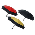 London Fog Windproof Double Canopy Auto-Open/Close Umbrella