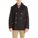 Tommy Hilfiger Men's Wool Melton Classic Peacoat
