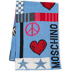 Moschino Wool Blend Scarf