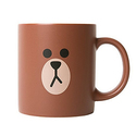 LINE Friends Brown Two Face Ceramic Mug