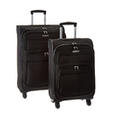 "Samsonite Upspin Lightweight Softside Set  - 21""/25"""