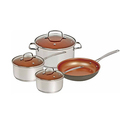 NuWave Nonstick Aluminum Cookware Set (7-Piece)