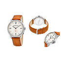 Stührling Original Men's Leather-Strap Dress Watch