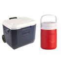 Coleman Xtreme 50夸特和1加仑冰桶套装