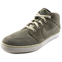 Nike Suketo Mid Leather Men Round Toe Suede Gray Sneakers
