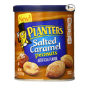 Planters Salted Caramel Dry Roasted Peanuts 6oz - Pack of 8