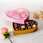 Heart Chocolate Gift Box