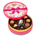 Round Chocolate Gift Box