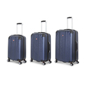 SwissGear Navy Polycarbonate Hardside Spinner Luggage