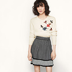 Knit Short Skirt