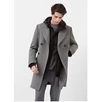 羊毛混纺长大衣